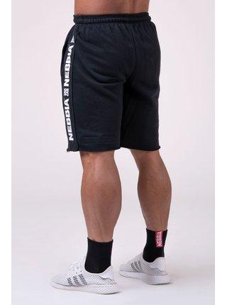 ESSENTIAL šortky 177 - černá