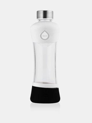 Čierno-biela sklenená fľaša EQUA ACTIVE (550 ml)