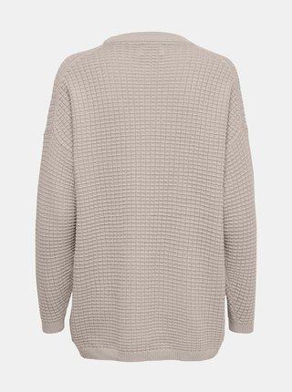 Béžový volný svetr ONLY