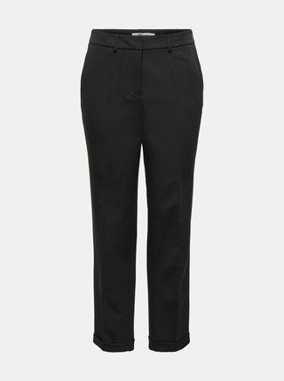 Černé zkrácené kalhoty ONLY