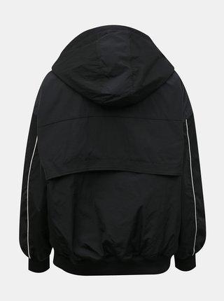 Černý dámský anorak s kapucí Converse