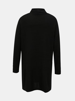 Černý dlouhý svetr se stojáčkem TALLY WEiJL