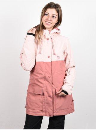 Dc CRUISER PEACH WHIP zimní dámská bunda - růžová