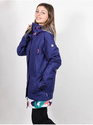 Dc RIJI BLUE RIBBON zimní dámská bunda - modrá