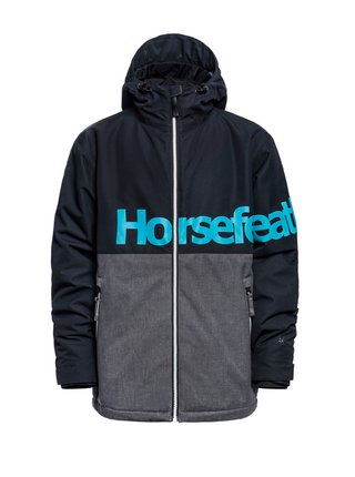 Horsefeathers OLIVER ASH zimní dětská bunda - šedá