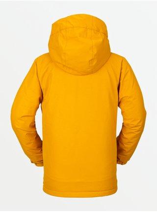 Volcom By 17Forty Ins Resin Gold zimní dětská bunda - žlutá
