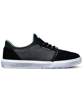 Dvs STRATOS LT+ KIDS CHARCOAL BLACK MESH letní boty dětské - černá
