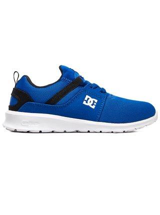 Dc HEATHROW BLACK/BLUE letní boty dětské - modrá