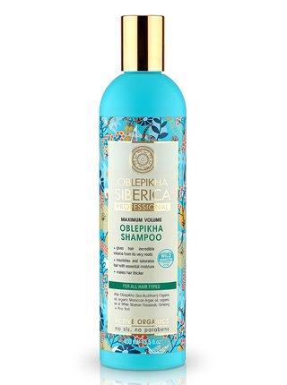Rakytníkový šampon pro všechny typy vlasů 400 ml Natura Siberica