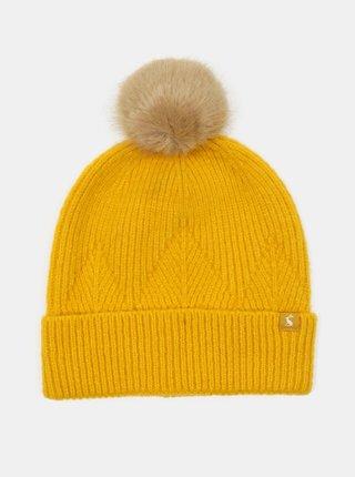 Žltá dámska čiapka Tom Joule