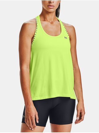 Zelené tílko Under Armour Knockout Tank