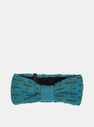 Modrá dámská vlněná čelenka Tranquillo