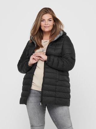 Černá zimní prošívaná bunda ONLY CARMAKOMA Tahoe