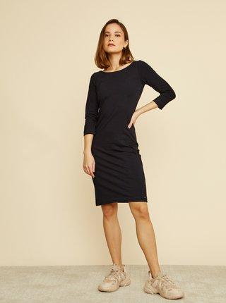 Čierne púzdrové basic šaty ZOOT Baseline Polli