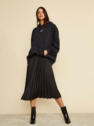 Černá plisovaná midi sukně ZOOT Kate