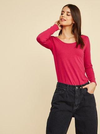 Tmavě růžové dámské basic tričko ZOOT Baseline Molly