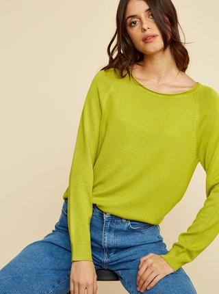 Zelený dámsky basic sveter ZOOT Baseline Ema