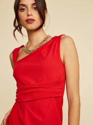 Červené púzdrové šaty ZOOT