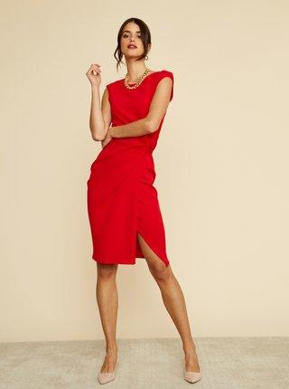 Červené púzdrové šaty ZOOT Lauren