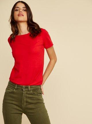 Červené dámské basic tričko ZOOT Baseline Trissie