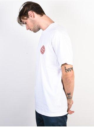 Element BRIAN GABERMAN OPTIC WHITE pánské triko s krátkým rukávem - bílá