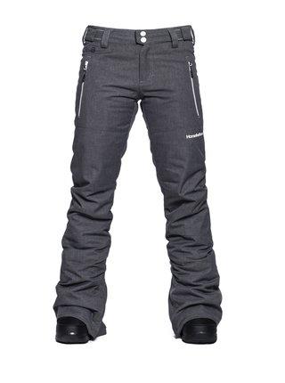Horsefeathers AVRIL ASH dámské zimní kalhoty - šedá