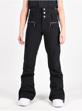 Roxy RISING HIGH TRUE BLACK dámské zimní kalhoty - černá