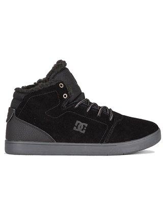 Dc CRISIS HIGH WNT black dětské zimní boty - černá