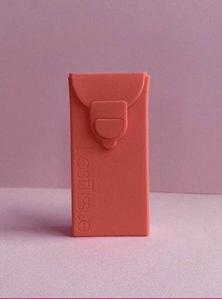 Znovupoužitelné kapesníčky v růžovém obalu LastSwab