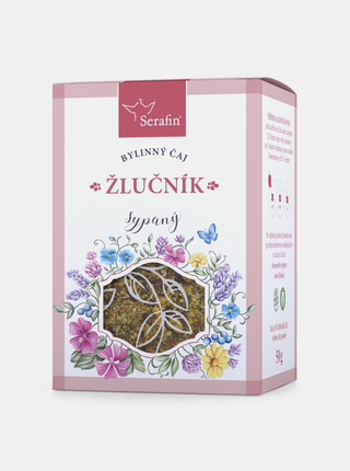 Bylinný sypaný čaj Serafin - Žlučník (50 g)