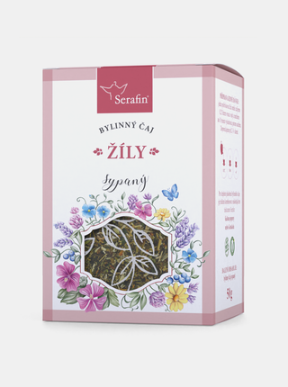 Bylinný sypaný čaj Serafin - Žíly (50 g)