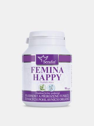 Přírodní kapsle Serafin - Femina happy (90 kapslí)