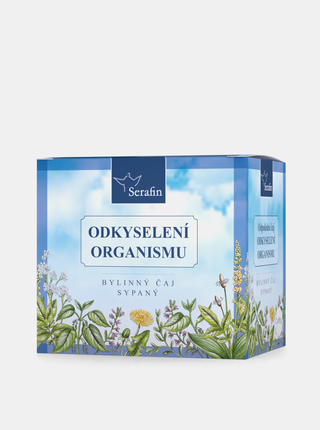 Bylinný sypaný čaj Serafin - Odkyselení organismu (2 x 50 g)