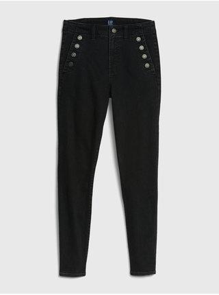 Černé dámské skinny fit džíny GAP