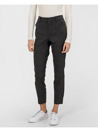 Tmavě šedé dámské kalhoty GAP