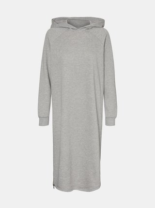 Šedé mikinové šaty Noisy May Helene