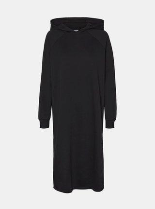 Černé mikinové šaty Noisy May Helene