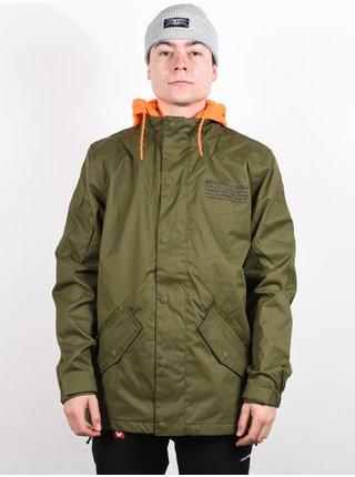 Dc UNION olive night zimní pánská bunda - zelená