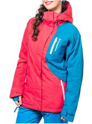 Horsefeathers ALINA rouge blue zimní dámská bunda - růžová