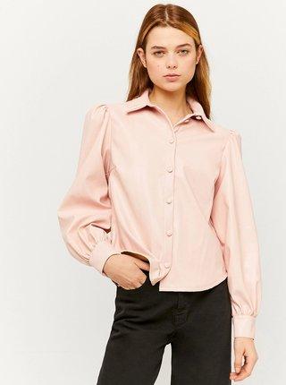 Růžová košile TALLY WEiJL