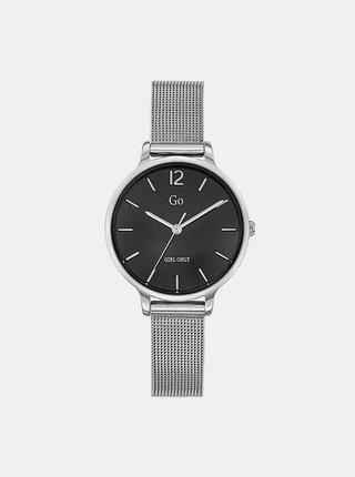 Dámské hodinky s nerezovým páskem ve stříbrné barvě  Girl Only