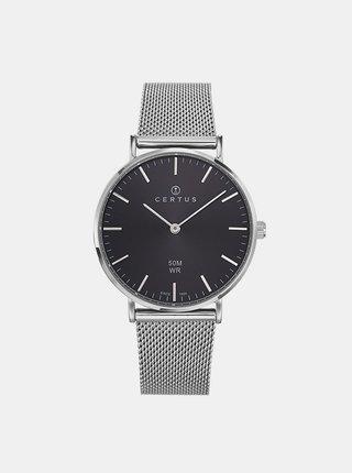 Dámské hodinky s nerezovým páskem ve stříbrné barvě Certus