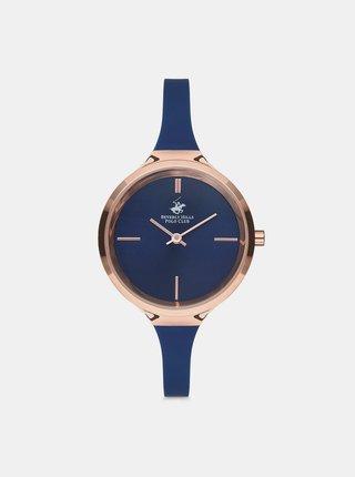 Tmavě modré dámské hodinky  Beverly Hills Polo Club