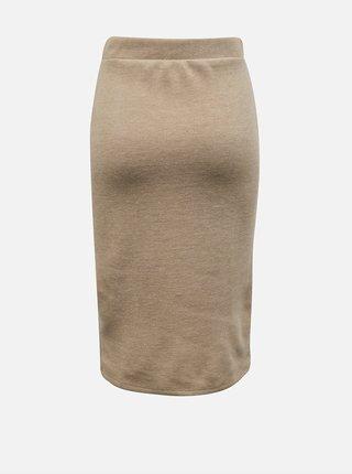 Béžová pouzdrová sukně VILA-Many