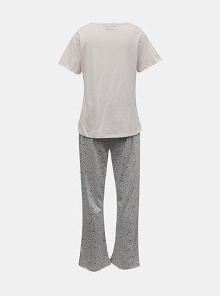 Růžové vzorované pyžamo Dorothy Perkins