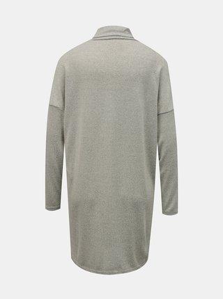 Krémové volné svetrové šaty Jacqueline de Yong