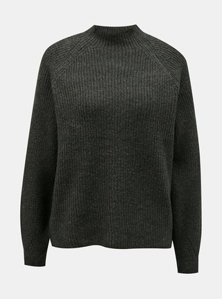 Khaki volný svetr ONLY
