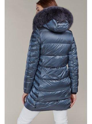 Kara modré zimné kabát