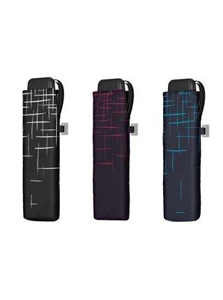 Doppler Carbonsteel SLIM Passion skládací plochý deštník - Tyrkysová