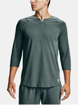 Tmavě šedé pyžamo Under Armour UA Recover Sleepwear Henley